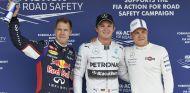 El Mercedes de Hamilton sale ardiendo y Rosberg se lleva la Pole - LaF1.es