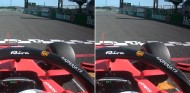 Vettel antes y después de su salida en falso - SoyMotor.com