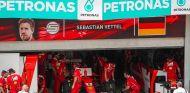 SF70-H de Sebastian Vettel en Sepang - SoyMotor.com