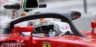 Sebastian Vettel con el halo - SoyMotor.com