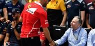 Jean Todt y Sebastian Vettel en una imagen de archivo - SoyMotor