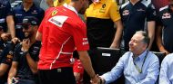 Sebastian Vettel y Jean Todt en Montreal - SoyMotor.com