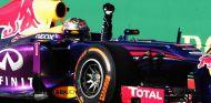 Sebastian Vettel celebra su victoria en Austin - LaF1
