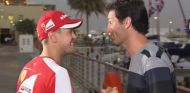 Sebastian Vettel y Mark Webber en Abu Dabi - LAf1