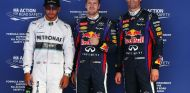 Hamilton, Vettel y Webber tras la clasificación del GP de Corea - LaF1