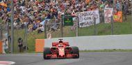 Sebastian Vettel en Barcelona - SoyMotor.com