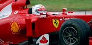 Sebastian Vettel al volante del F2012