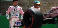 Sergio Pérez tras su accidente en los Libres 1 - SoyMotor