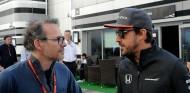 Jacques Villeneuve y Fernando Alonso en una imagen de archivo - SoyMotor