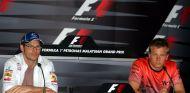 Jacques Villeneuve (izq.) y Kimi Räikkönen (der.) – SoyMotor.com
