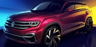 Este nuevo Volkswagen Atlas de cinco plazas se sustenta sobre la plataforma MQB - SoyMotor
