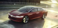 El ID. Vizzion Concept dibuja las líneas de la futura berlina eléctrica de lujo de Volkswagen - SoyMotor
