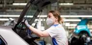 Fábrica de Volkswagen Navarra, esta mañana - SoyMotor.com