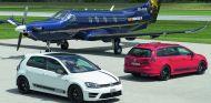 A nivel visual el Volkswagen Golf R360S cuenta con detalles visuales diferenciadores - SoyMotor