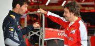 Mark Webber y Fernando Alonso en Austin - SoyMotor.com