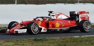 Sebastian Vettel prueba el halo en los test de Barcelona - LaF1