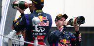 Horner, aliviado al evitar los conflictos internos en Red Bull - LaF1.es