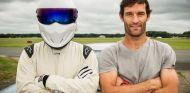 Mark Webber y The Stig