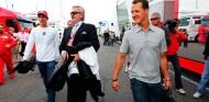 Willi Webber y Michael Schumacher en Hockenheim - SoyMotor.com