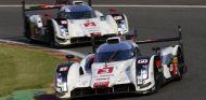 Los dos Audi LMP1 compitiendo - LaF1.es
