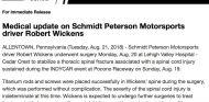 Comunicado sobre Robert Wickens - Soymotor.com