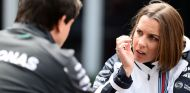 Claire Williams y Toto Wolff - SoyMotor.com
