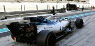 Kubica durante el test con Williams en Abu Dabi - SoyMotor.com