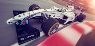 Williams FW36 con la pintura de Martini, la oficial para esta temporada - LaF1