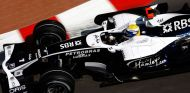Nico Rosberg en el Gran Premio de Mónaco de 2008, con el logotipo de Petrobras en su Williams - LaF1