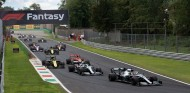 Hamilton por delante de Bottas en el GP de Italia F1 2019 - SoyMotor