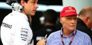 Toto Wolff y Niki Lauda - LaF1.es