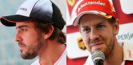 Fernando Alonso y Sebastian Vettel - LaF1