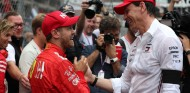 Sebastian Vettel y Toto Wolff en el GP de Mónaco F1 2019 - SoyMotor