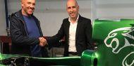Klaas Zwart y Gonzalo Gobert con el Jaguar R5 - SoyMotor.com