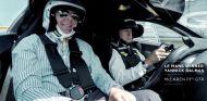 McLaren P1 GTR y cinco McLaren F1 GTR en Le Mans