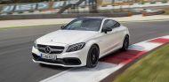 El Mercedes-AMG C63 Coupé en acción