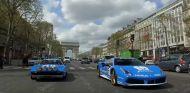 El Ferrari 488 GTB Tailor Made en el Tour Auto Optic 2000 de París
