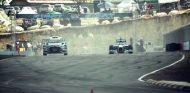 Lewis Hamilton vs. Ken Block, ¡Fórmula 1 vs. Rallycross!
