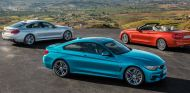 Gama BMW Serie 4 2017: Coupé, Gran Coupé y Cabrio