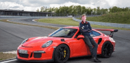 Walter Rörhl pone a prueba el nuevo Porsche 911 GT3 RS