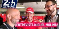 Miguel Molina nos enseña su Ferrari 488 GTE EVO | Lobato y Rosaleny en Le Mans