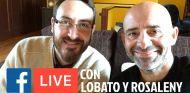 Facebook Live con Antonio Lobato y Cristóbal Rosaleny