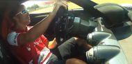 Fernando Alonso al volante de LaFerrari