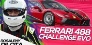 Ferrari 488 Challenge Evo   Rosaleny Pilota