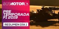 F1 2019 Test Barcelona, día 1 - Resumen jornada