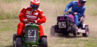 Räikkönen se pasa a los Rallyes... con una cortadora de césped