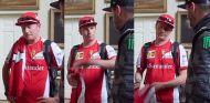 ¿De qué han hablado Räikkönen y Block en Goodwood?