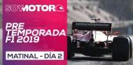 F1 2019 Test Barcelona, día 2 - Matinal