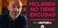 McLaren no tiene excusas