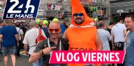 Locura de fans en Le Mans | Lobato y Rosaleny en Le Mans